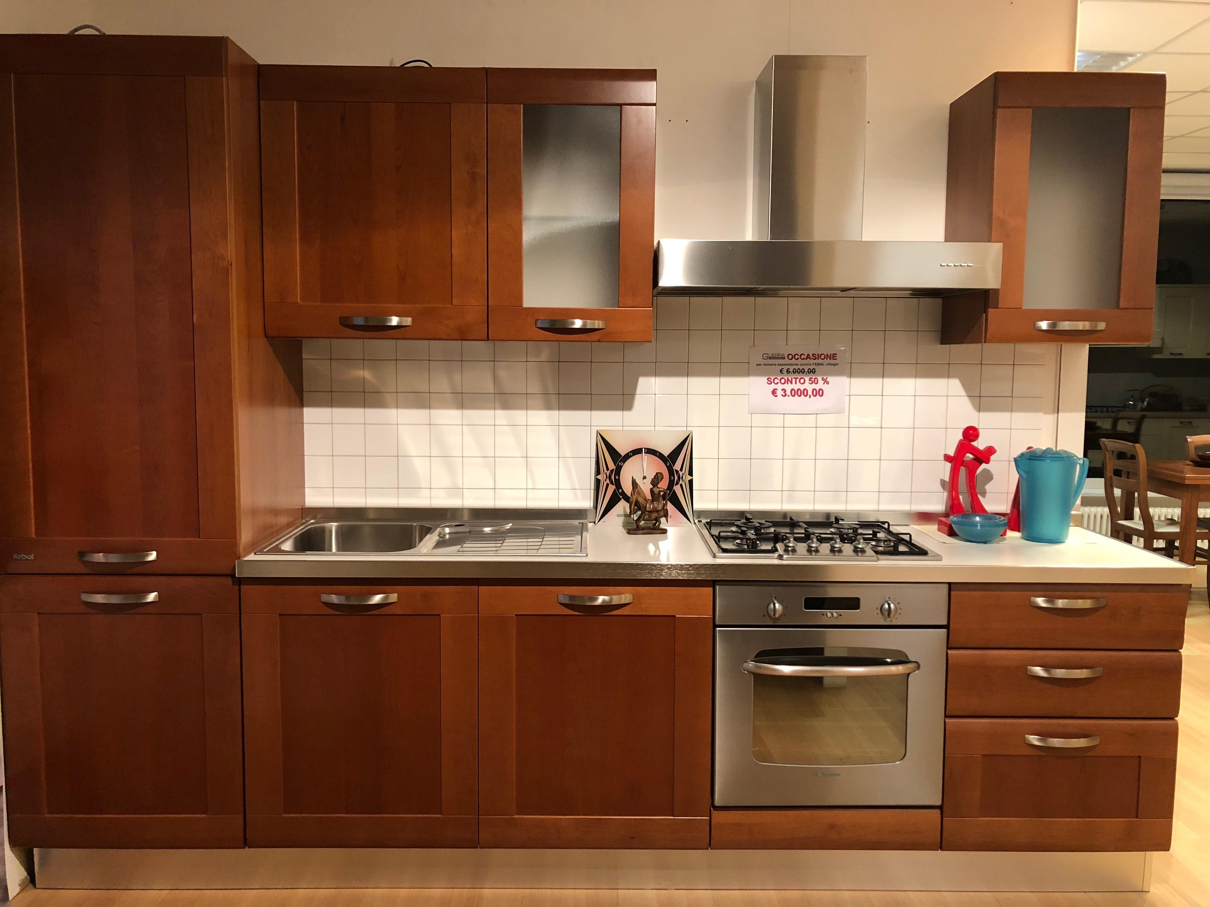 Cucine Moderne In Ciliegio.Cucina Febal Ciliegio Arredamenti Guerra